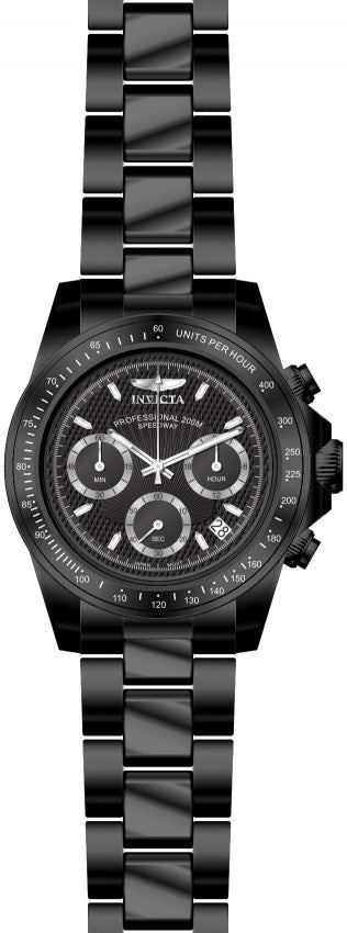 Invicta Men's Signature Quartz Chronograph Black Dial Watch 7116