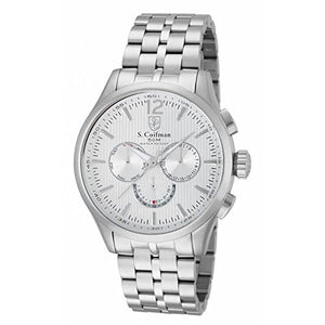 S. Coifman Men's Chronograph Quartz Stainless Steel Watch SC0126