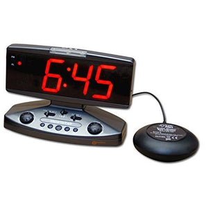 Geemarc Sonic Alert LED Display Phone, Clock and Bed Shaker AMPLICALL500