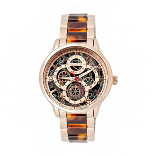 Nine2Five Women's Mesh Chronograph Rose Gold Alloy/Stainless Steel AMSH08RGRG