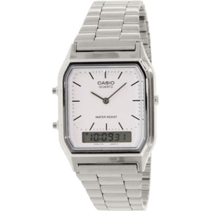 Casio Men's Stainless Steel Dress watch AQ230A7D