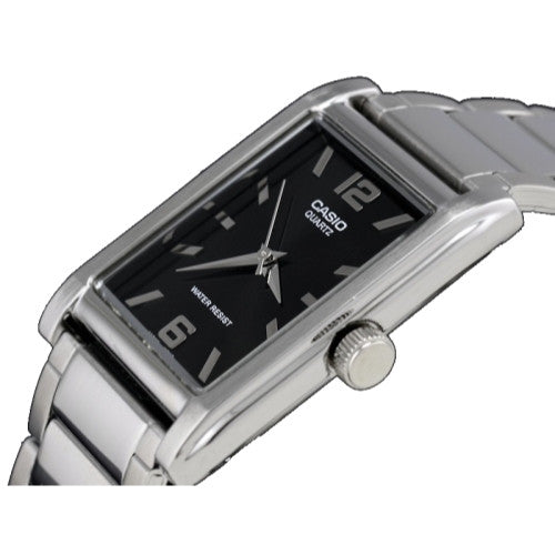 Casio Men's Silver Metal Fashion Analog Watch MTP1235D-1A