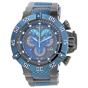 Invicta Men's Subaqua Chronograph 500m Stainless Steel Grey Silicone Watch 18524