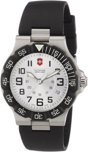Victorinox Swiss Army Men's Summit XLT Stainless Steel Black Rubber Watch 241345