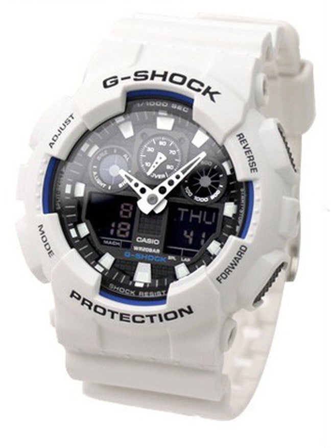 Casio Men's G-Shock X-Large White Sports Watch GA100A-7