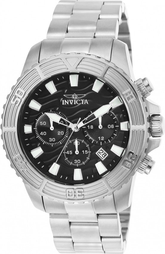 Invicta Men's Pro Diver Quartz Multifunction Black Dial Watch 23998