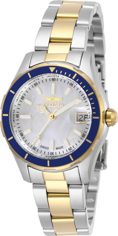 Invicta Women's Pro Diver Quartz Stainless Steel Two Tone Watch 28648