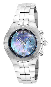 Technomarine Men's TM-715013 Sea Pearl Quartz Chronograph Mother of Pearl Dial Watch