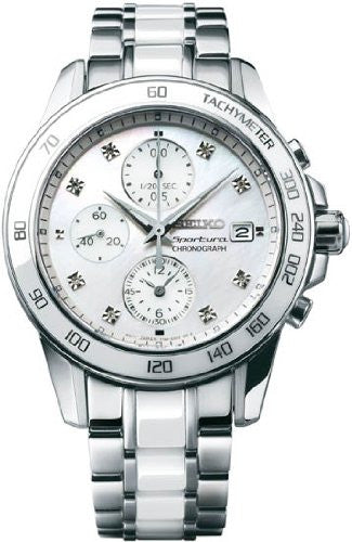 Seiko Sportura Chronograph with Date Women's Watch SNDX95