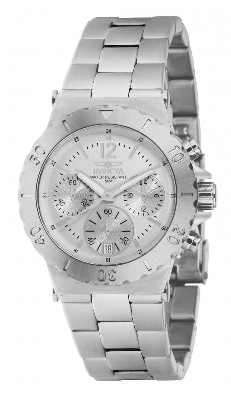 Invicta Men's Specialty Chronograph Analog Quartz Stainless Steel Watch 1275