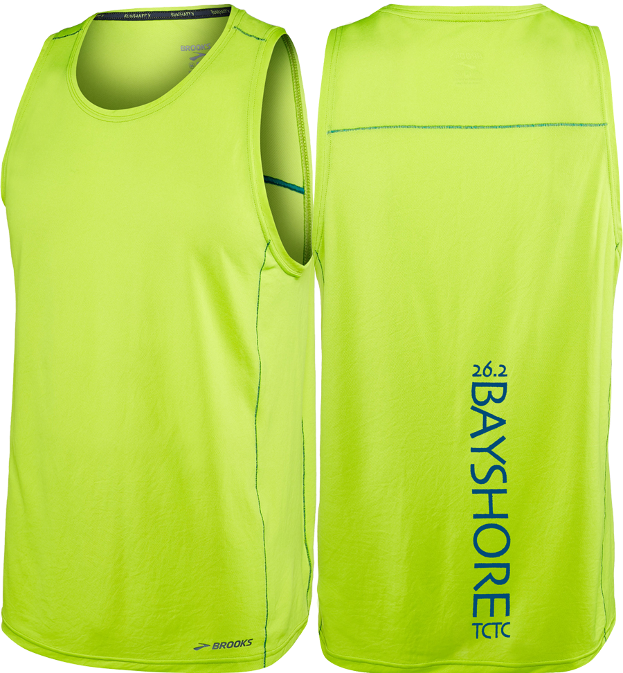 Bayshore Ghost Tank Lime (26.2 only) (Men)