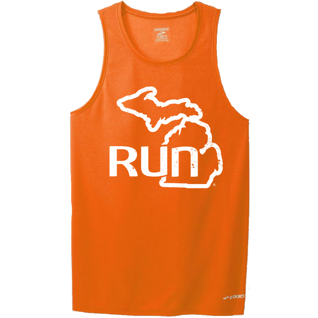 Run the Mitt Singlet Orange (Men)