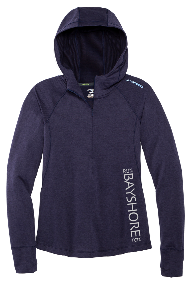 Run Bayshore Notch Thermal Hoodie (Women)