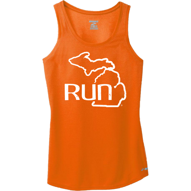 Run the Mitt Podium Tank Orange (Women)