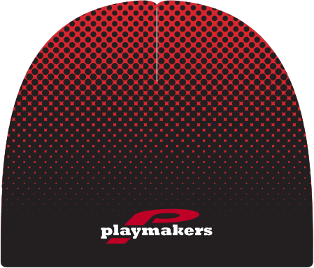 Playmakers Beanie Red/Black