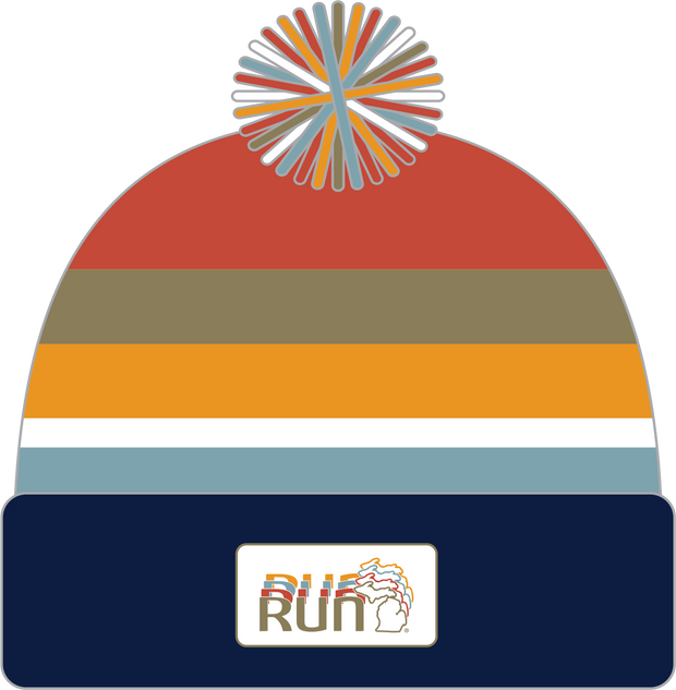Run the Mitt Pom Beanie