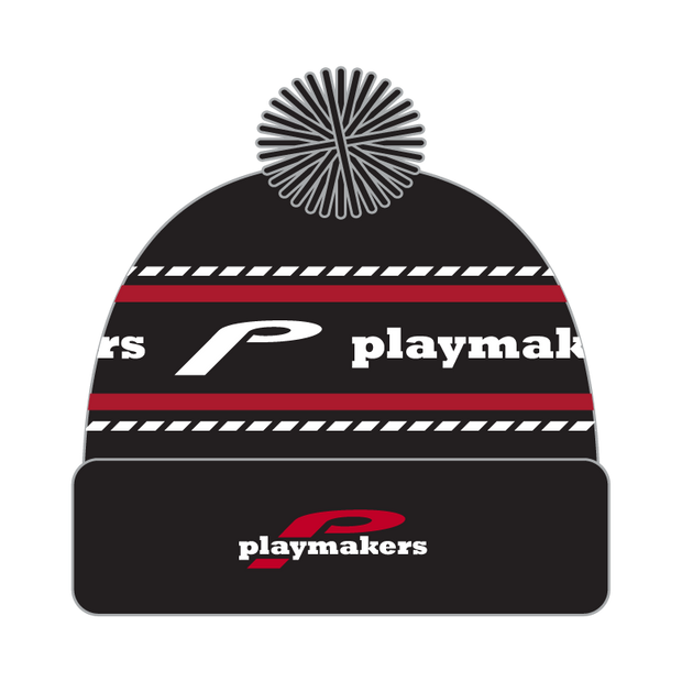Playmakers Pom Pom Beanie (Black)