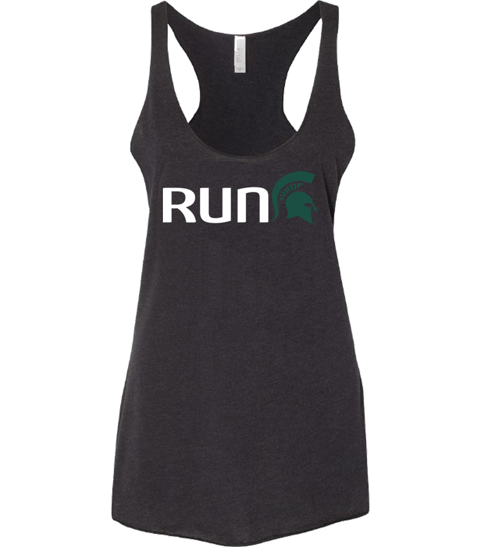 Run Sparty Tank Black (Women)