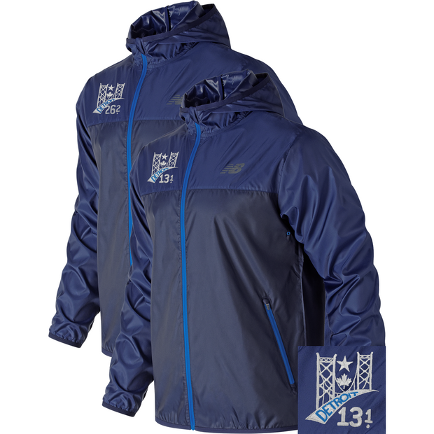 Detroit Windcheater Jacket TTB (Men) (13.1 & 26.2)