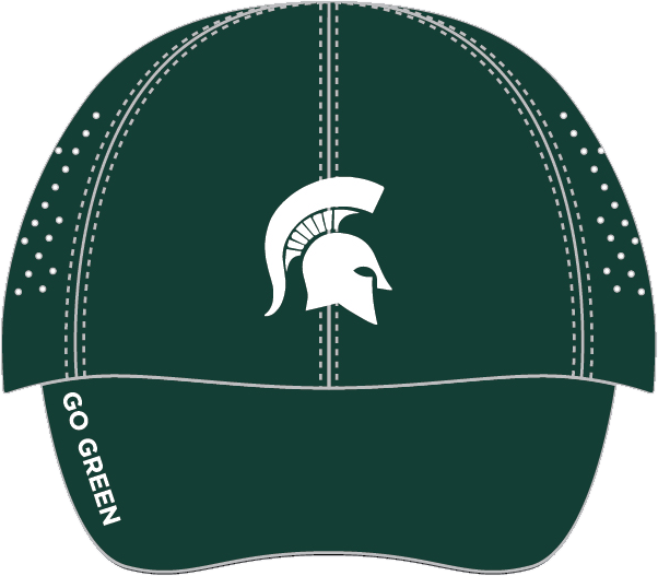 MSU Sparty Run Hat