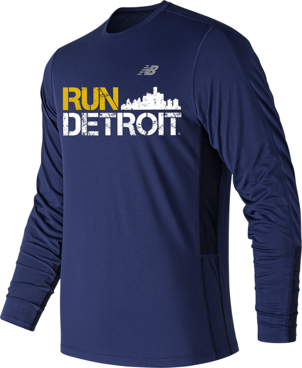 Run Detroit Accelerate Long Sleeve TTB (Men)