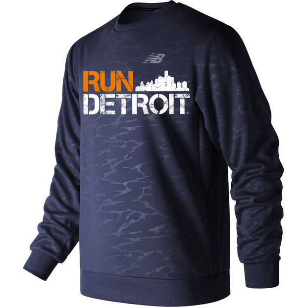 Run Detroit Corefleece Crew PGM (Men)