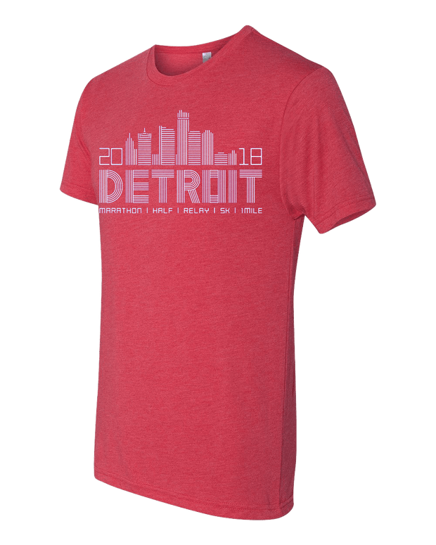 Detroit Skyline Short Sleeve (Men)