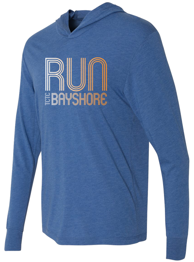 Run Bayshore Hooded Tee (Unisex)