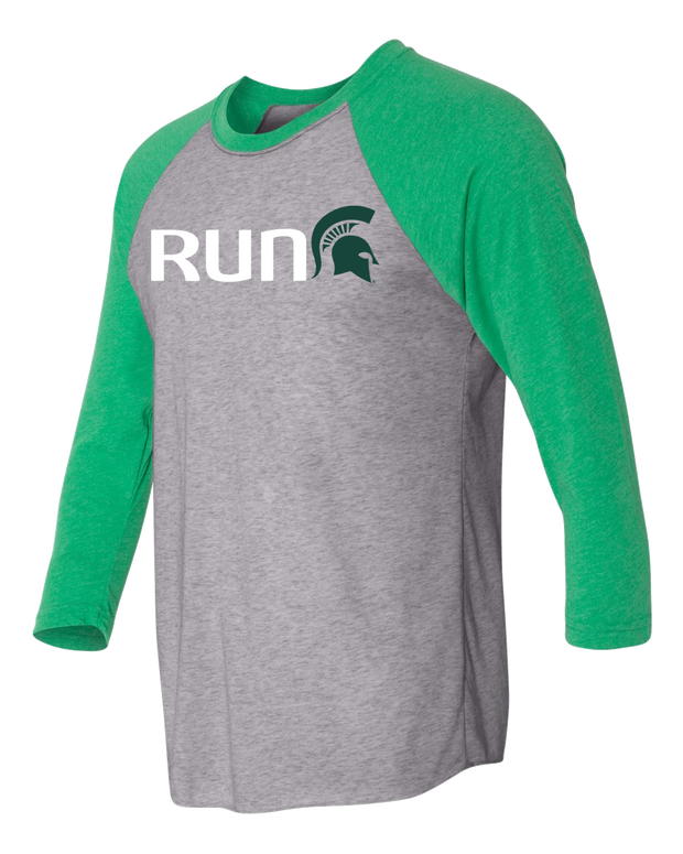 Run Sparty Raglan (Unisex)