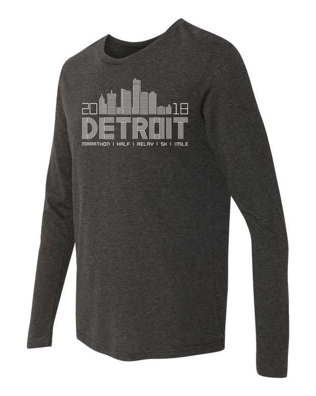 Detroit Skyline Long Sleeve (Men)