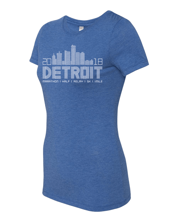 Detroit Skyline Short Sleeve (Women)