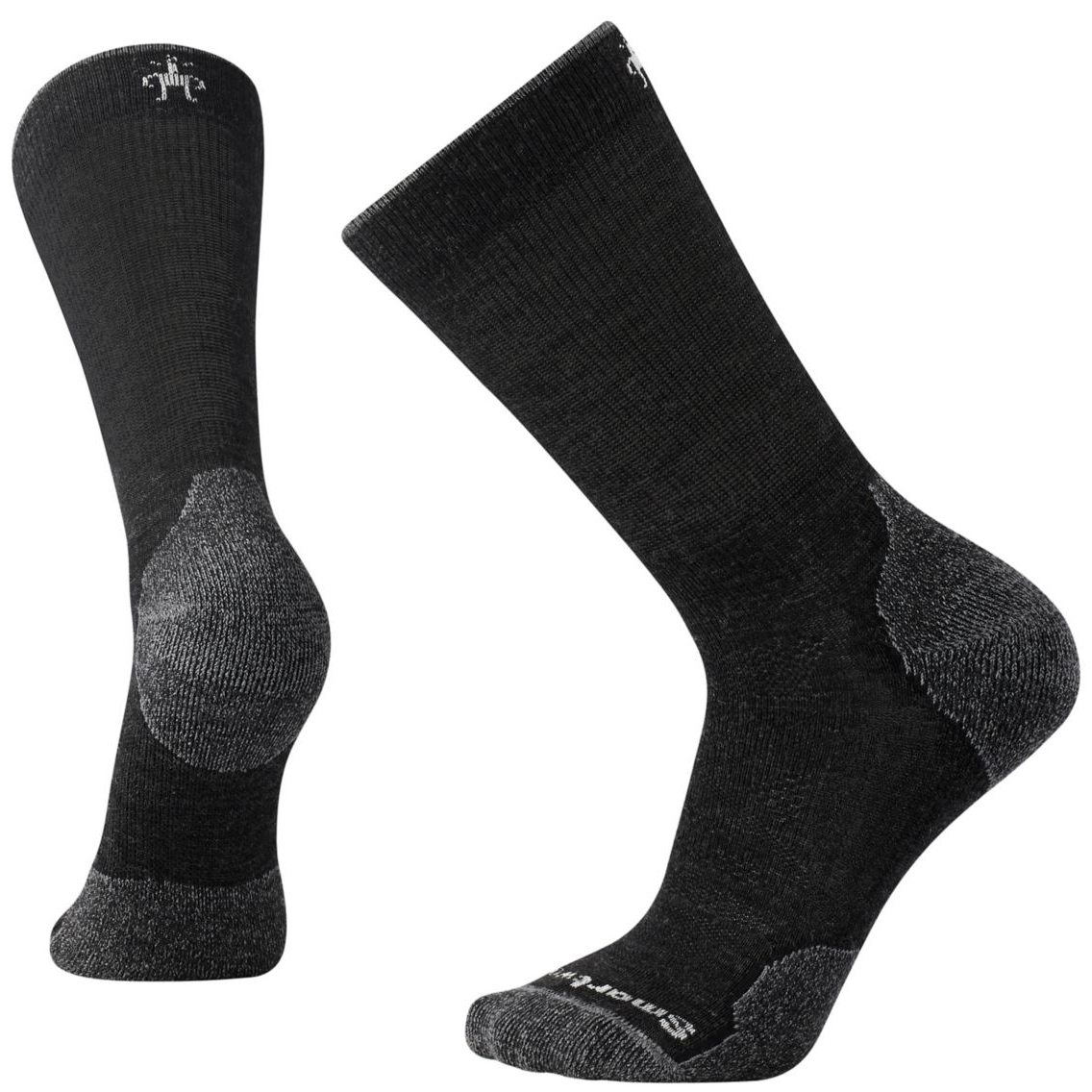 PhD® Outdoor Light Crew Socks Charcoal (Men)