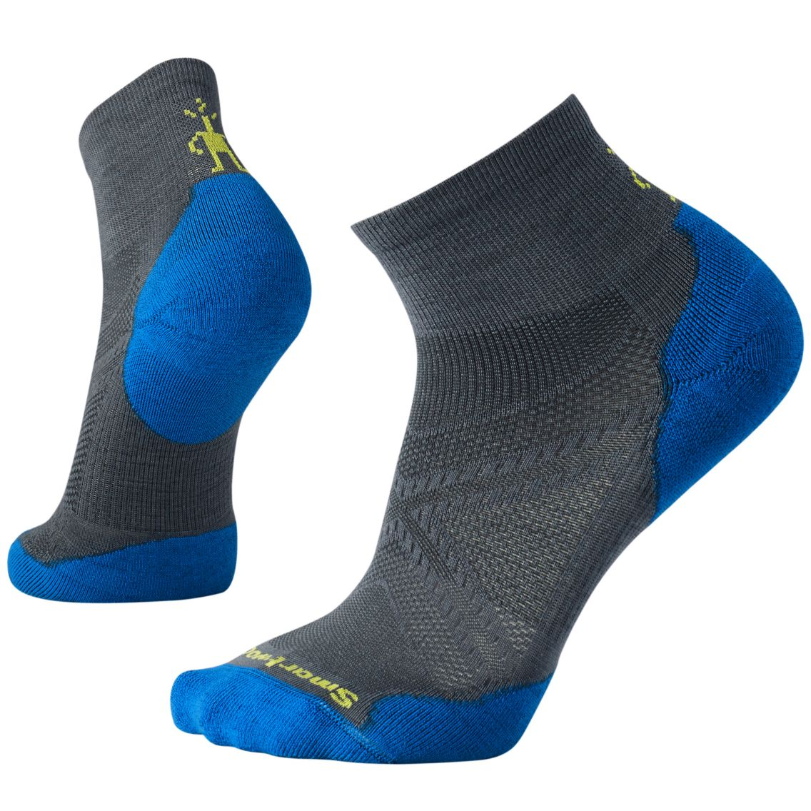 PhD® Run Light Elite Mini Graphite/Bright Blue (Men)