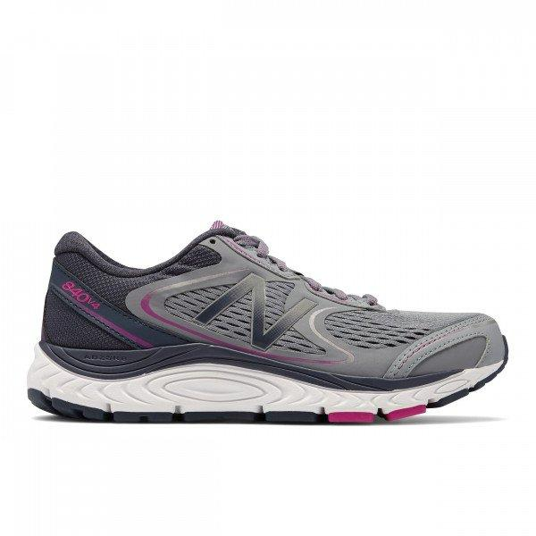 Women's NB 840 V4 GRY 2E Extra Wide (Neutral)