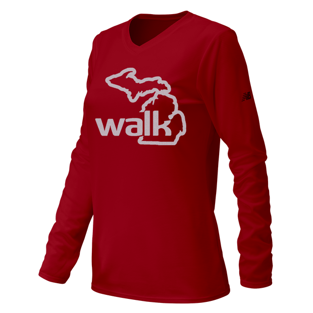 Walk the Mitt LS Tech Tee (Women's)