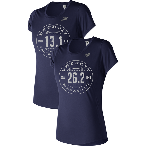 Detroit Accelerate Short Sleeve PGM (Women) (13.1 & 26.2)