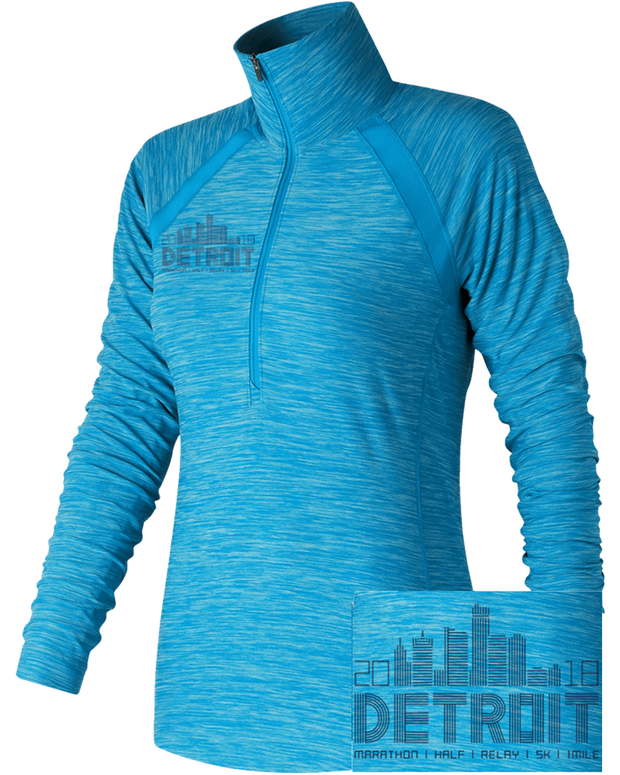 In Transit Half Zip MAH SKY (Women)