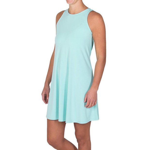 Bamboo Flex Dress Heather Mint
