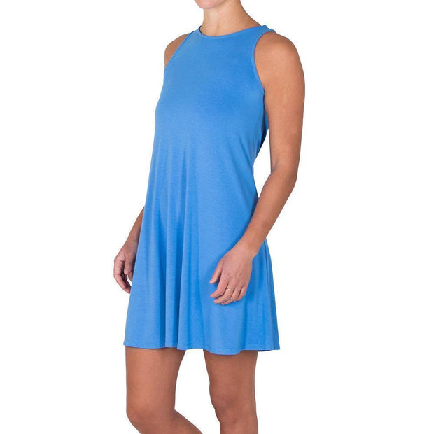 Bamboo Flex Dress Surf Blue