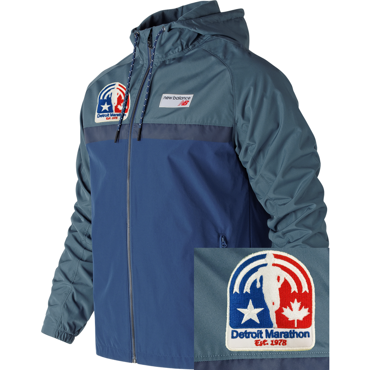 Detroit Marathon '78 Hooded Jacket MCT (Men)