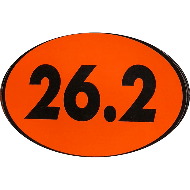 Orange Detroit 26.2 Magnet