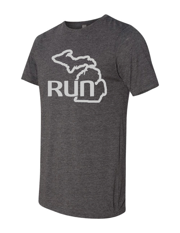 Run the Mitt SS Charcoal (Men)