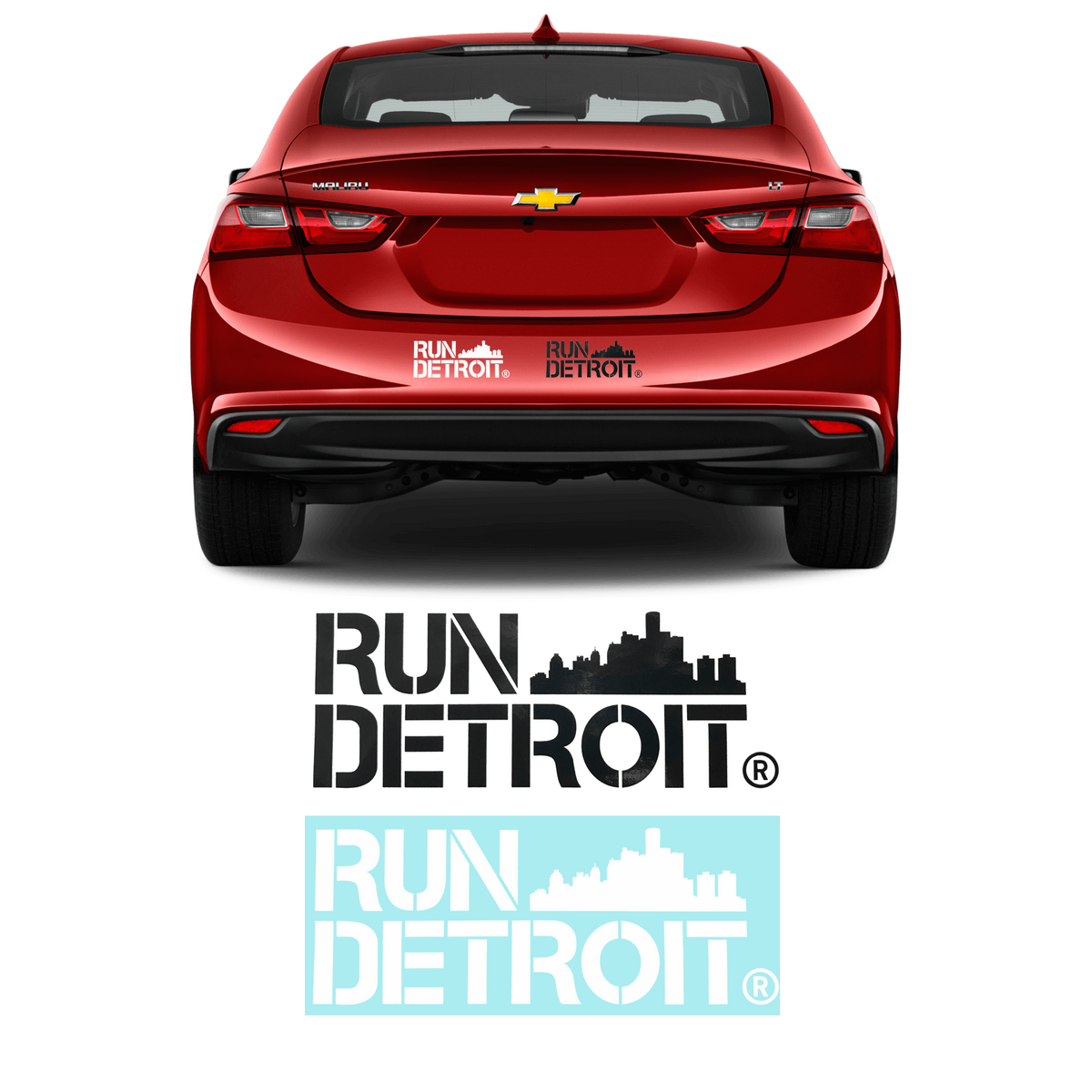 Run Detroit Sticker (2 Styles)
