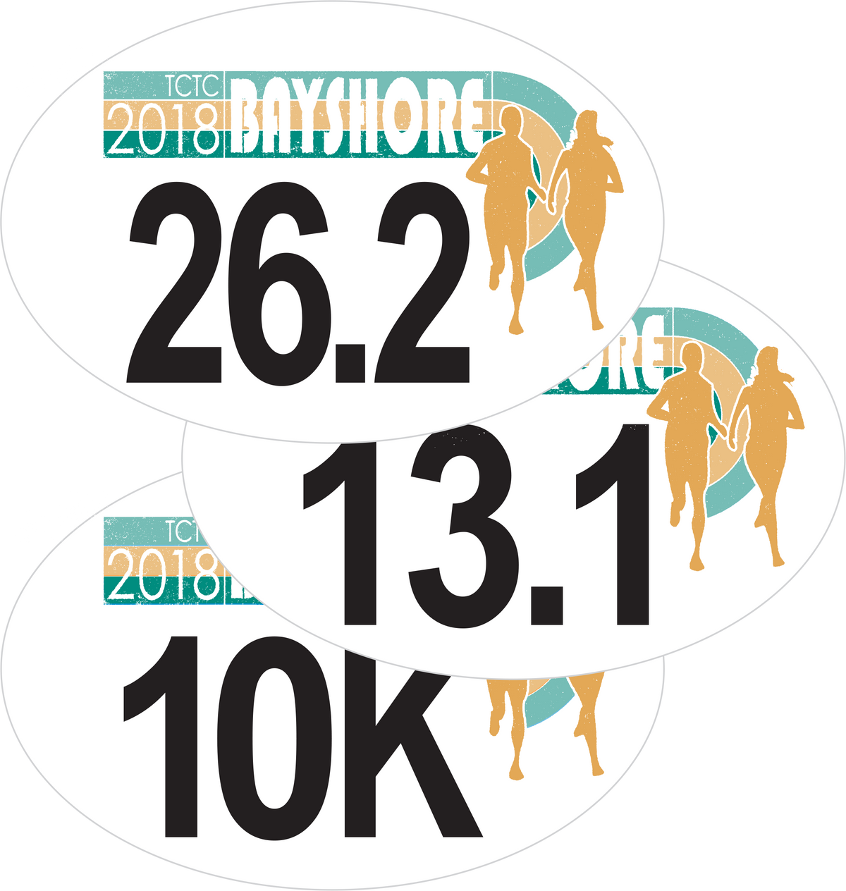 Bayshore 2018 Car Decal Sticker (10K & 13.1)