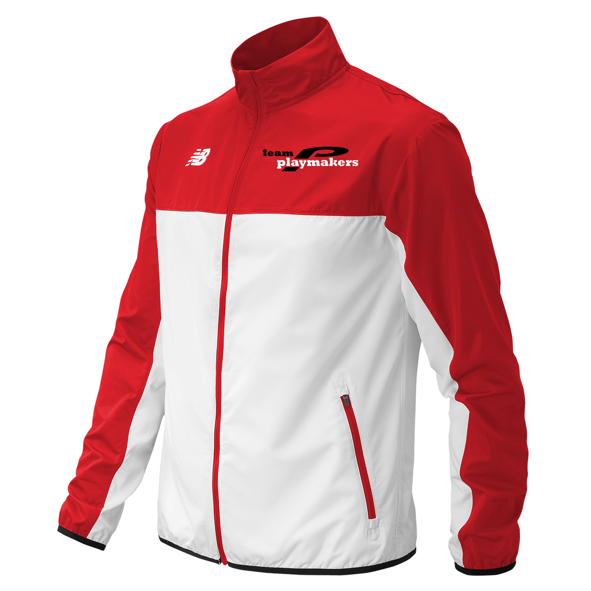 NB Team Playmakers Jacket Red/White (Men)