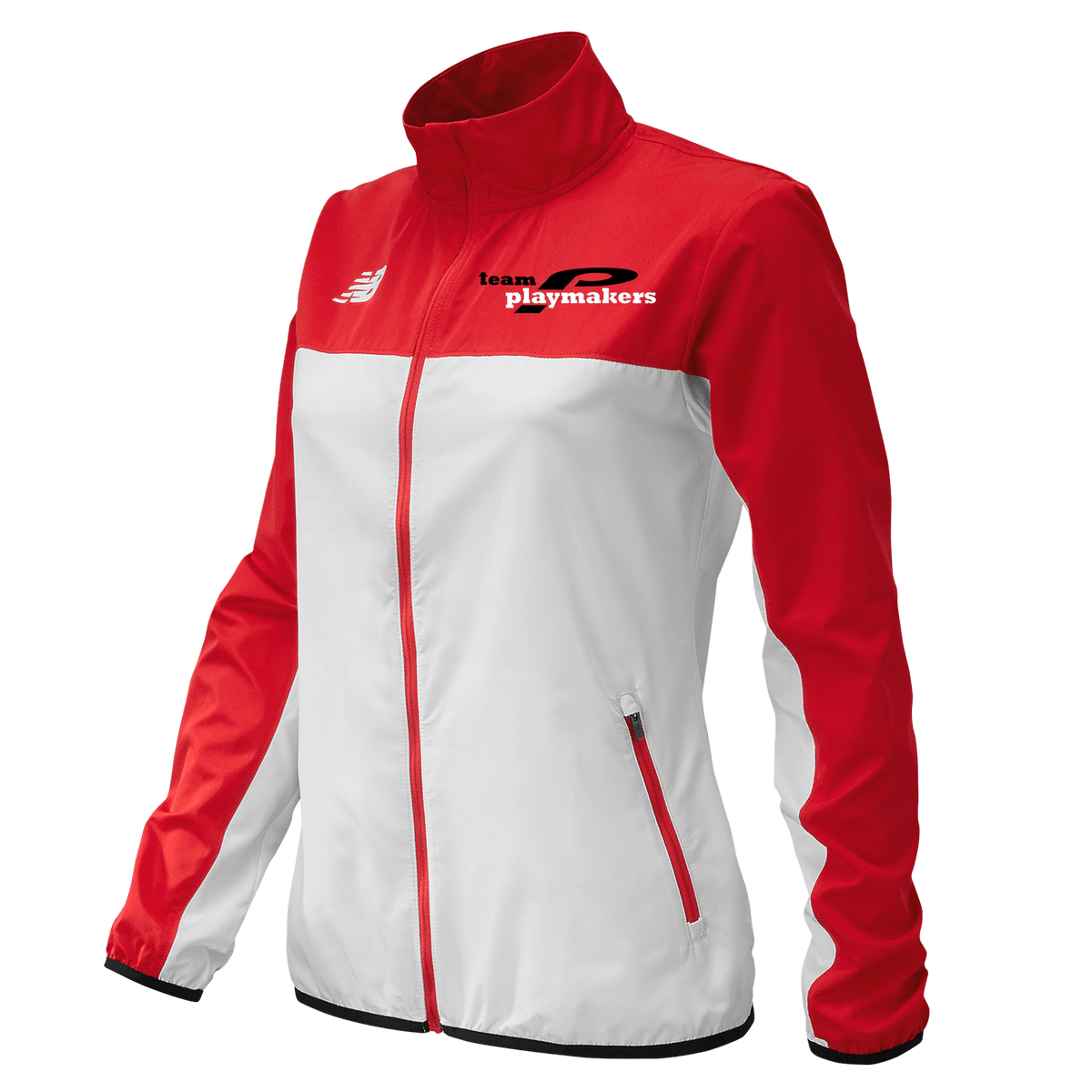 NB Team Playmakers Jacket Red/White (Women)