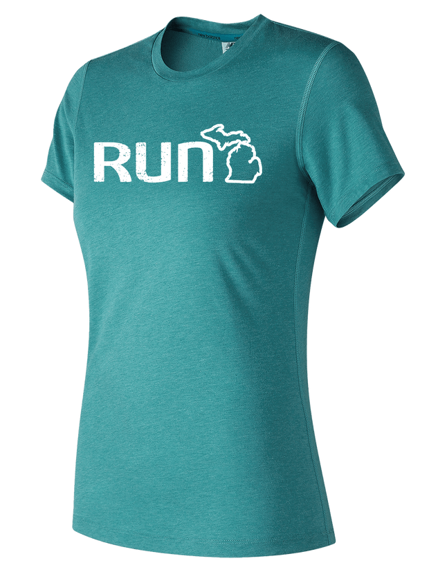 Run Michigan Short Sleeve T-Shirt (Women's)