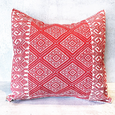 Oaxacan Embroidered Pillow