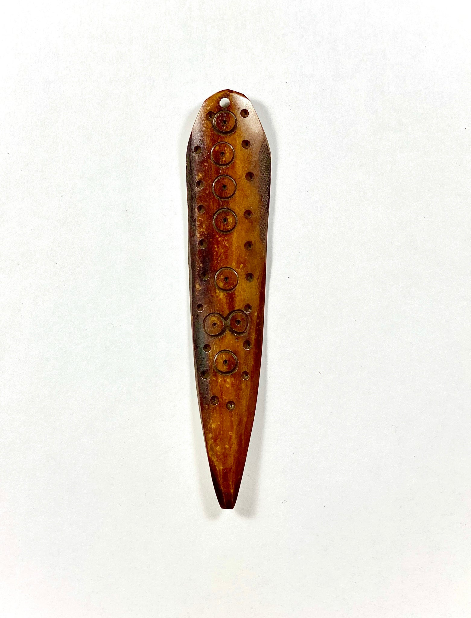 Hand-carved African Bone Pendant - T.Karn Imports