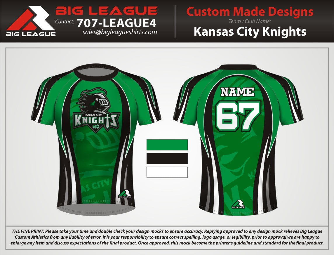 Knights - Compression - Flag Football